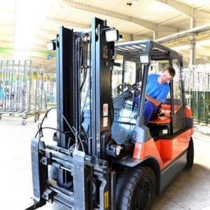 Práce v Německu - řidič VZV