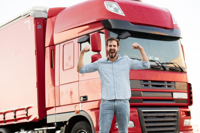 řidič kamionu