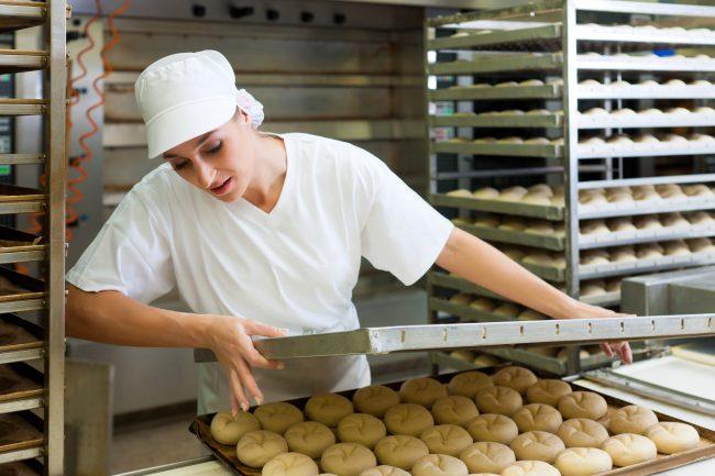 pekař - práce v německu