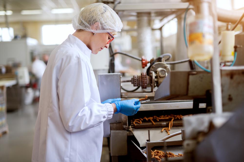 operátor výroby práce v německu