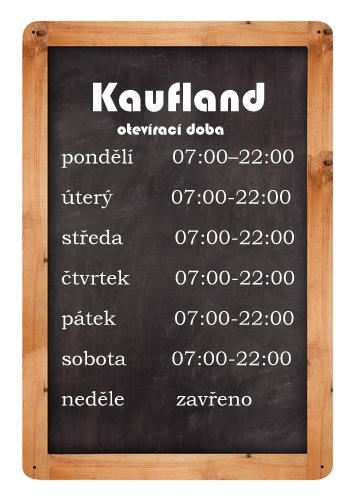 otevírací doba kaufland marienberg