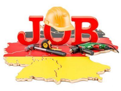 práce za rohem, práce v německu