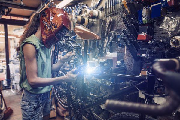 sváření svařování práce pro ženy ženy v mužských profesích