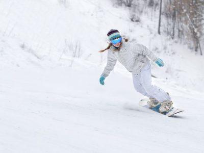 krušné hory klínovec lyžování snowboard