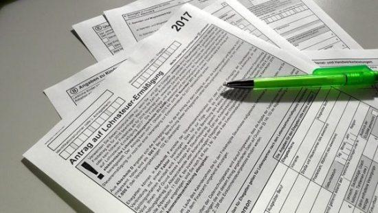 daňové přiznání k dani z příjmu v německu