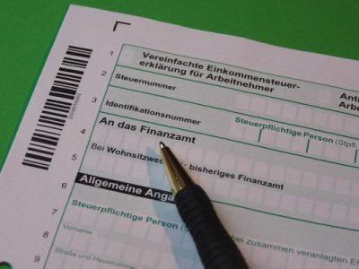 daňové přiznání daň z příjmu německo